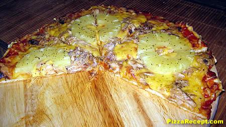 pizza recept med bakpulver